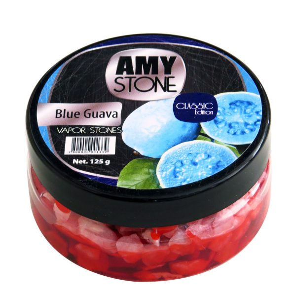 Amy Stone dampstenen - Blue Guava (blauwe guave)