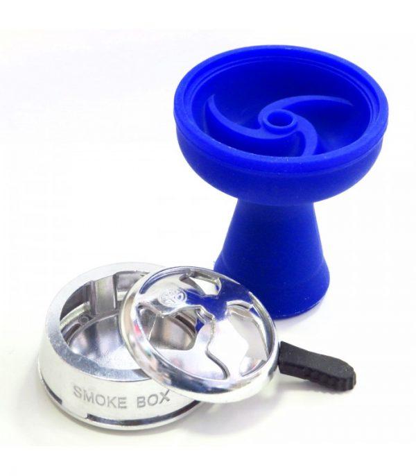 AMY Deluxe Siliconen Tabakskop + Smoke Box