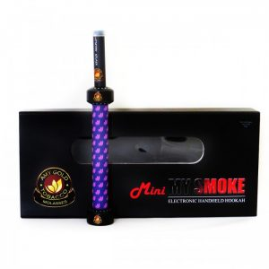 AMY Gold E-Hookah 'Mini My Smoke' (paars)