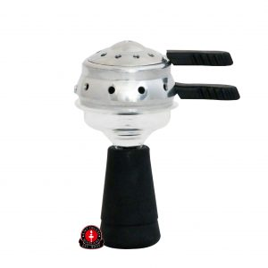 AMY Deluxe Glazen Tabakskop met Heat Manager