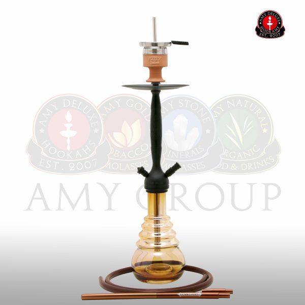 AMY Deluxe CITYSCAPE 690R Matt zwart - Amber