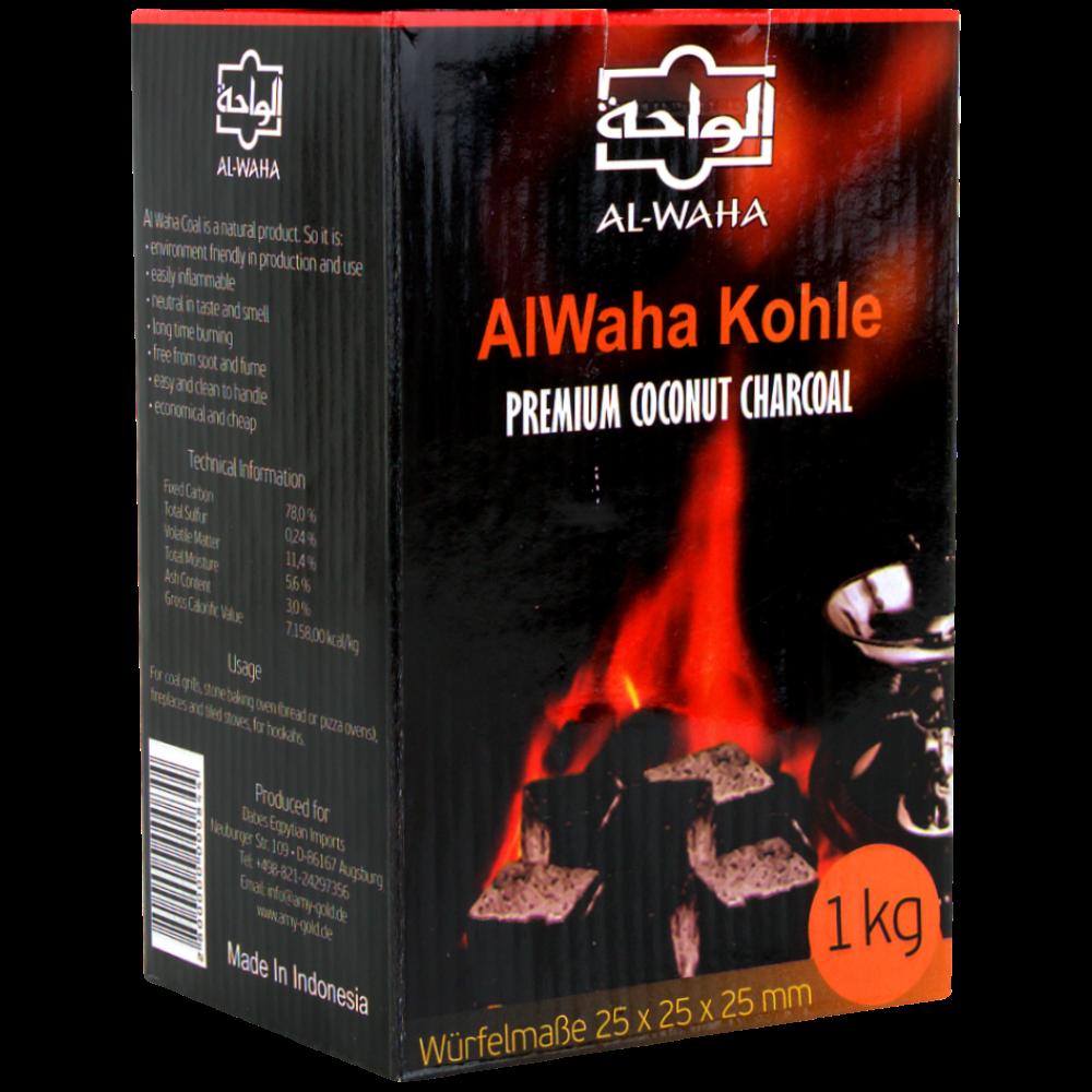 AL-WAHA Natuurkolen - 1 kg