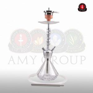 AMY ALU DIAMOND S 062 mat Silver-TR