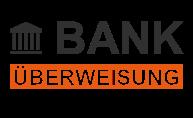 Bankuberweisung