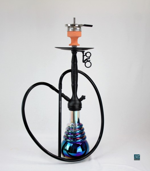 amy deluxe shisha 690r psmbk bk cityscape rauchs ule d wasserpfeife schwarz bowl. Black Bedroom Furniture Sets. Home Design Ideas